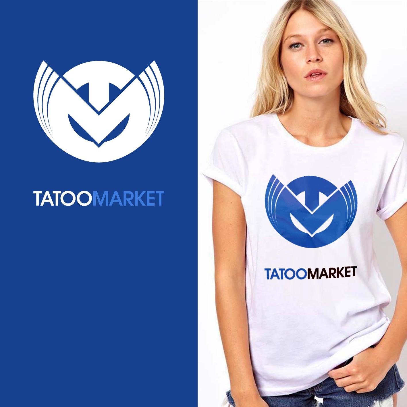 Редизайн логотипа магазина тату оборудования TattooMarket.ru фото f_7605c3cd00ba912d.png