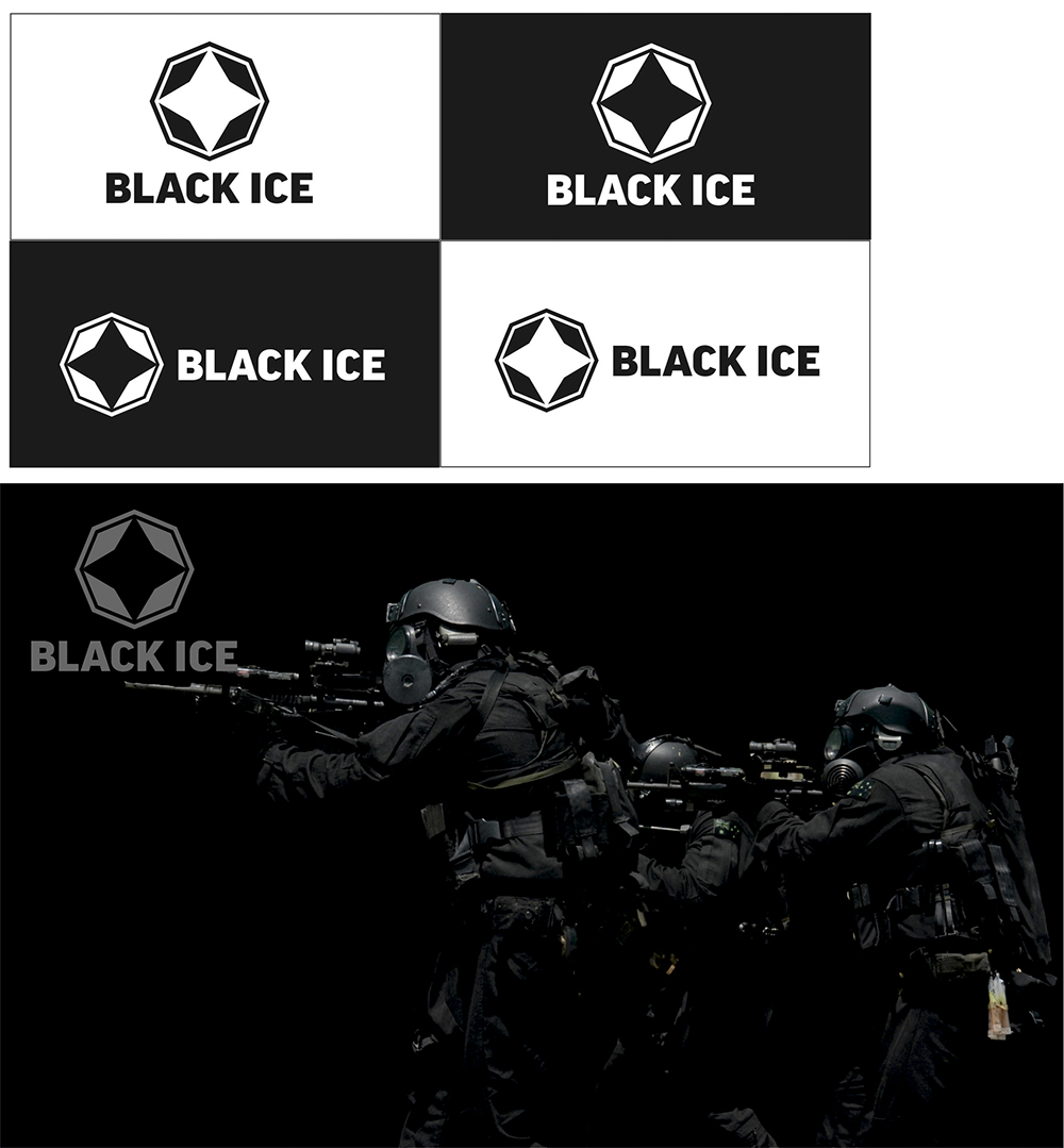 """Логотип + Фирменный стиль для компании """"BLACK ICE"""" фото f_14256dfe4c0d8c59.jpg"""