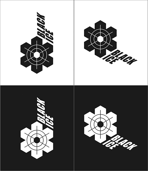 """Логотип + Фирменный стиль для компании """"BLACK ICE"""" фото f_19557135360d83fe.jpg"""