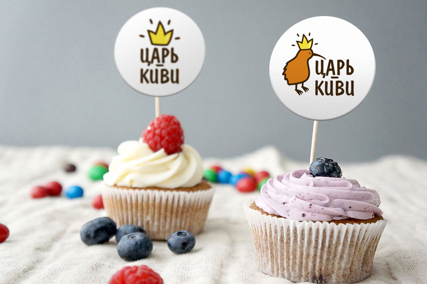 """Доработать дизайн логотипа кафе-кондитерской """"Царь-Киви"""" фото f_4035a081d5ed6b9c.jpg"""