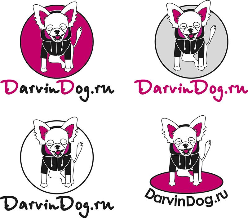 Создать логотип для интернет магазина одежды для собак фото f_523564b67b69506c.jpg