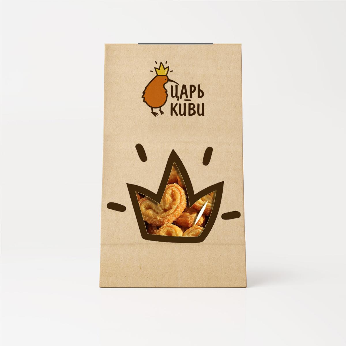 """Доработать дизайн логотипа кафе-кондитерской """"Царь-Киви"""" фото f_5585a05a4f50a006.jpg"""