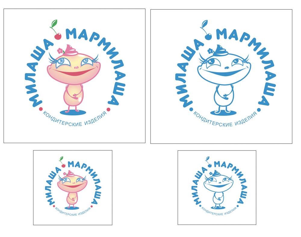"""Логотип для товарного знака """"Милаша-Мармилаша"""" фото f_9145877485a3ed1c.jpg"""