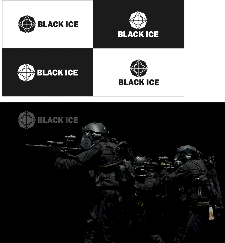 "Логотип + Фирменный стиль для компании ""BLACK ICE"" фото f_95856ddcbeea54ee.jpg"
