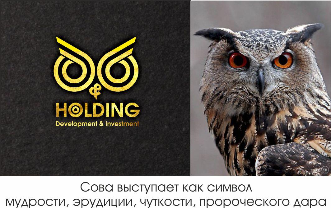 """Разработка Логотипа +  Фирменного знака для компании """"O & O HOLDING"""" фото f_4905c7d03fa2da49.jpg"""