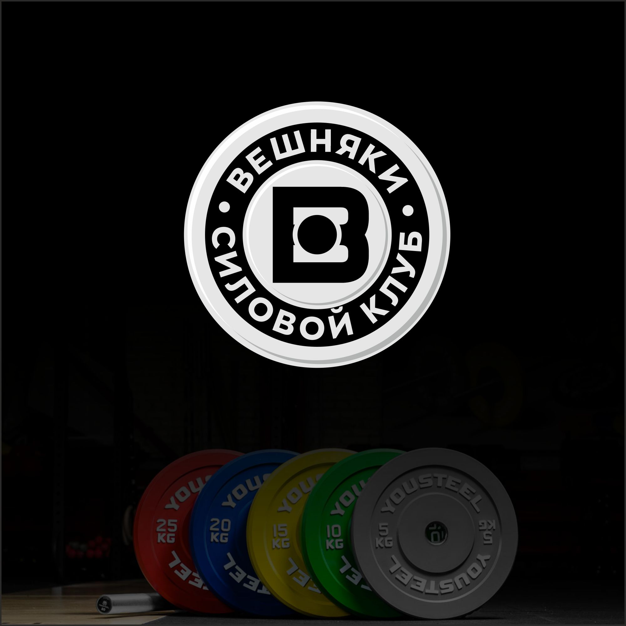 Адаптация (разработка) логотипа Силового клуба ВЕШНЯКИ в инт фото f_6135fbf371893a07.jpg