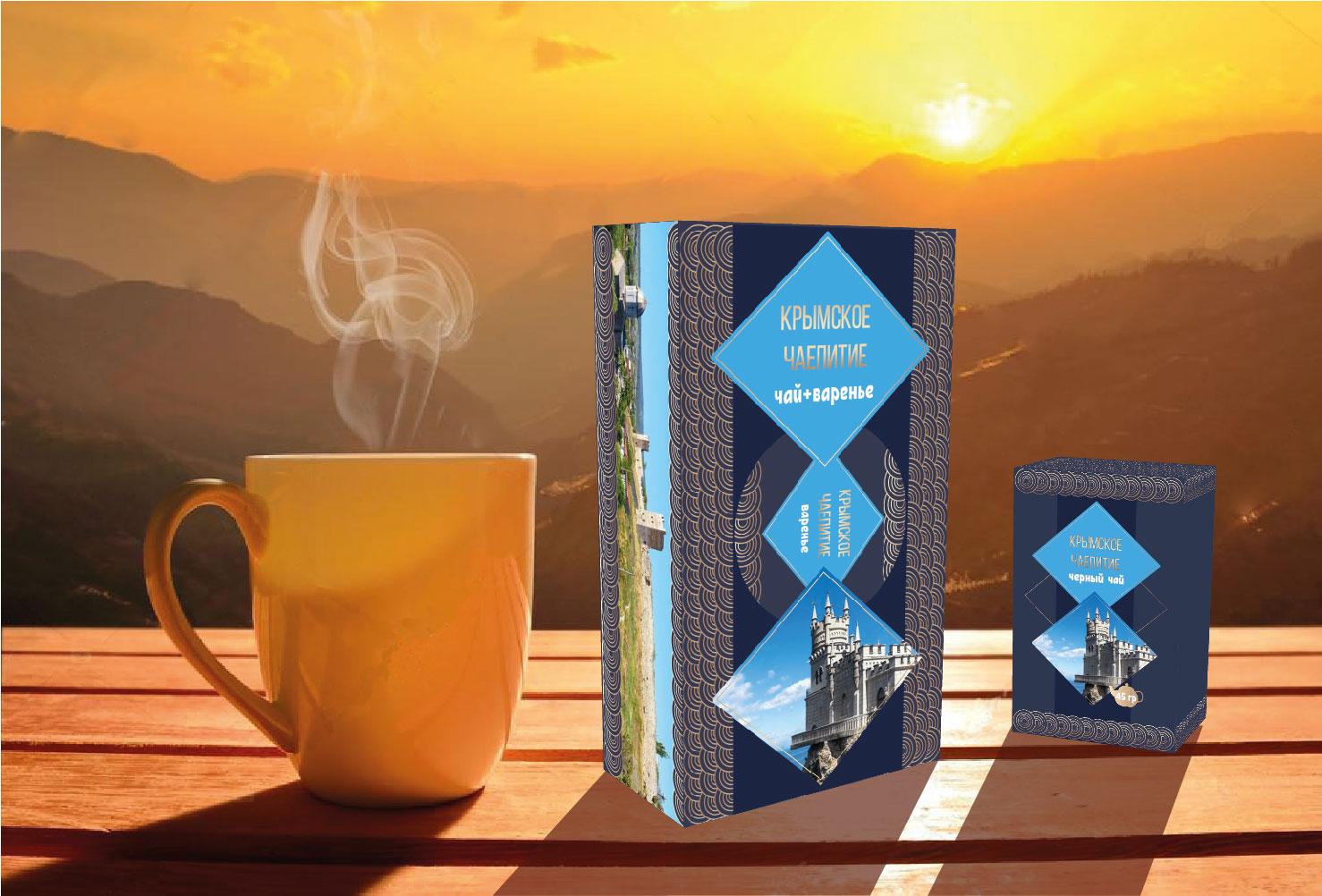 Дизайн подарочной-сувенирной коробки: с чаем и варением фото f_1995a5506940b023.jpg
