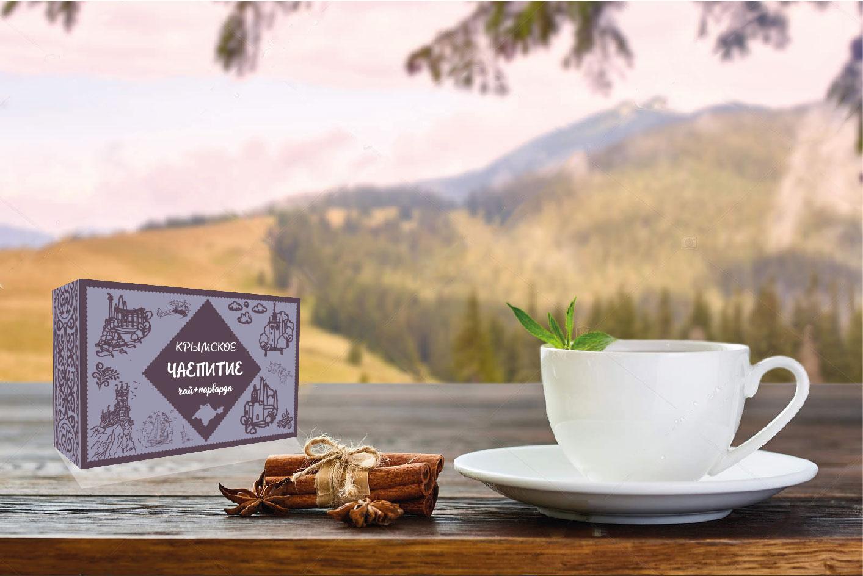 Дизайн коробки сувенирной  чай+парварда (подарочный набор) фото f_2775a46c9160952d.jpg
