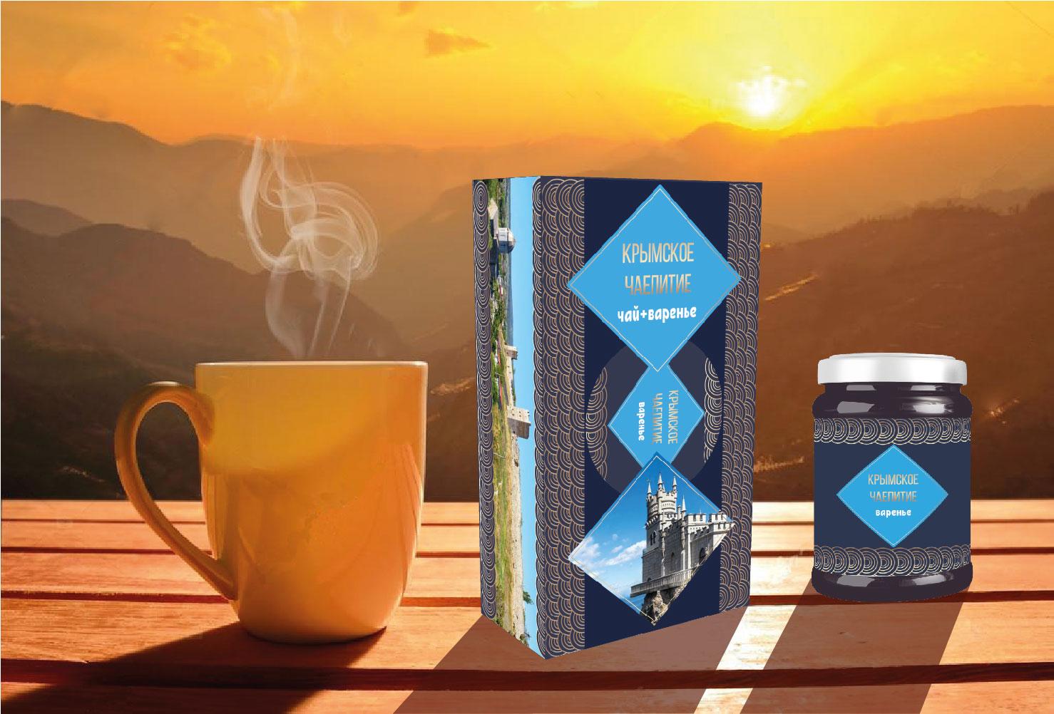 Дизайн подарочной-сувенирной коробки: с чаем и варением фото f_3355a5506f275aec.jpg