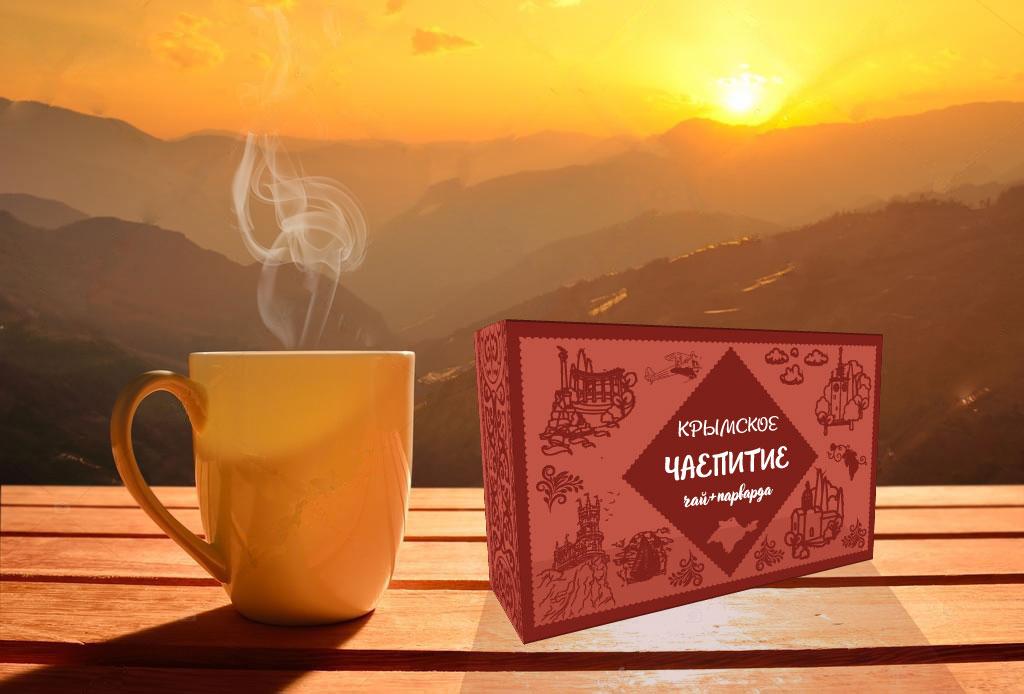 Дизайн коробки сувенирной  чай+парварда (подарочный набор) фото f_8155a4d821dc5c56.jpg