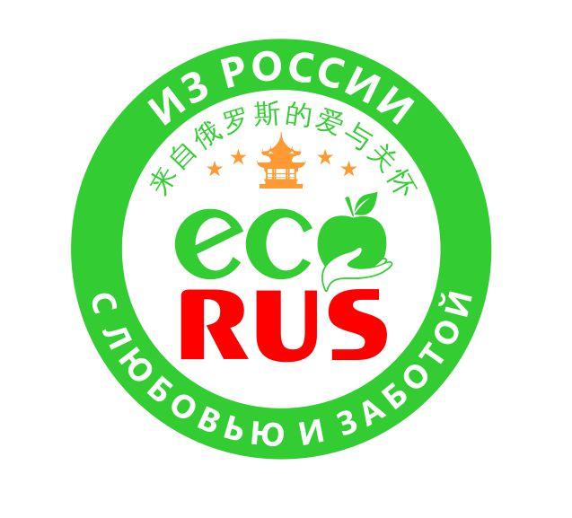 Логотип для поставщика продуктов питания из России в Китай фото f_2685eafebeb4d269.jpg