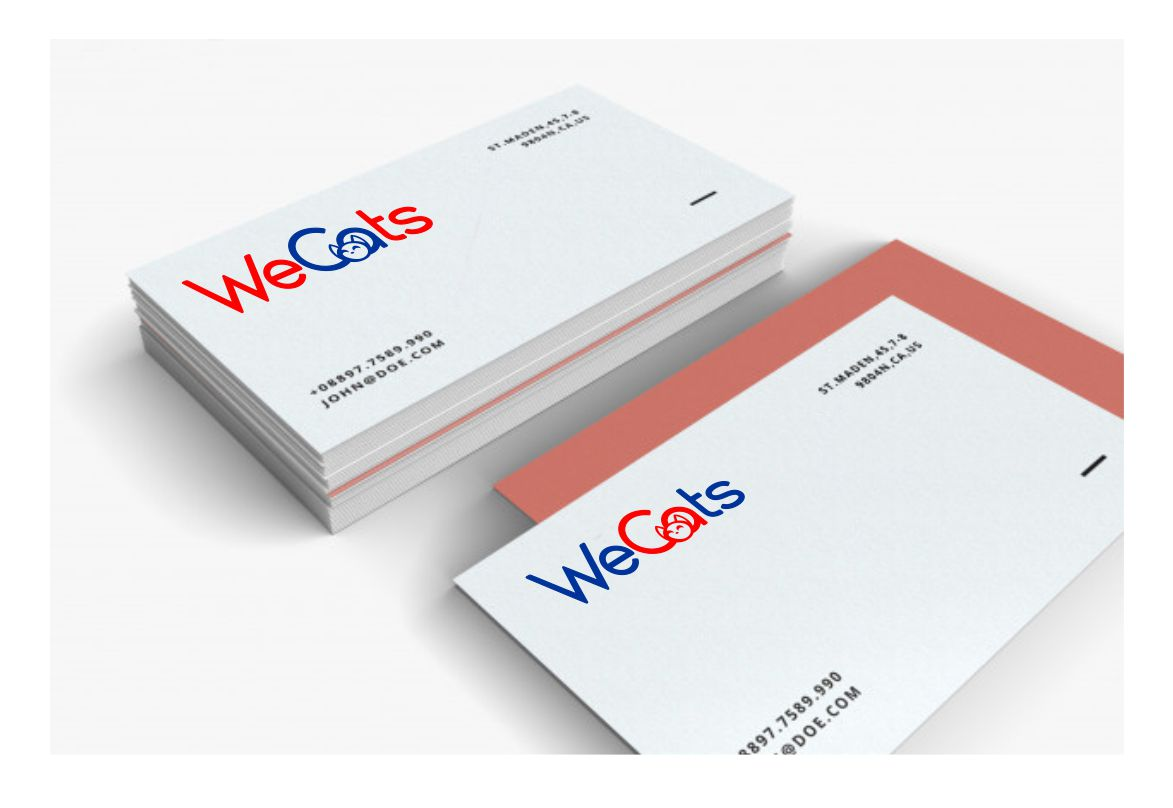 Создание логотипа WeCats фото f_5515f193a4808c0b.jpg