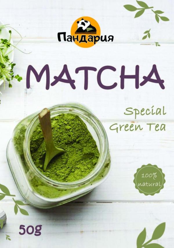 Наклейка Matcha Tea