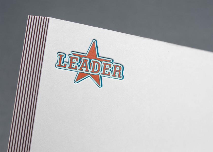 черлидинг логотип LEADER