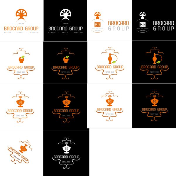 Конкурсная работа. Логотип BROCARD GROUP.