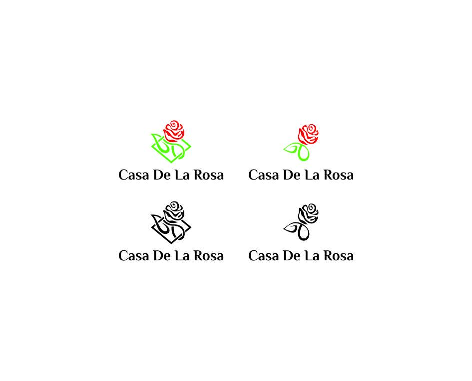 Логотип + Фирменный знак для элитного поселка Casa De La Rosa фото f_1185cd99dd0cdd20.jpg