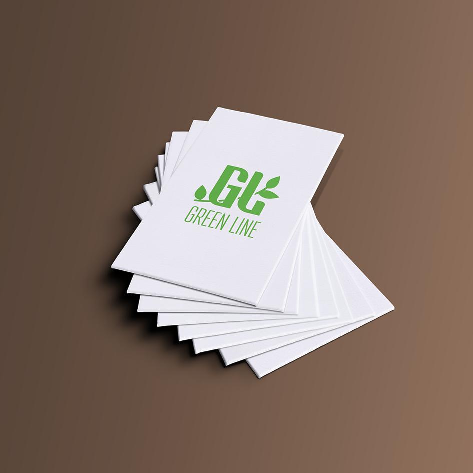"""Разработка Логотипа и фирменного стиля ООО """"Грин лайн"""" фото f_2505db28e9a96bed.png"""
