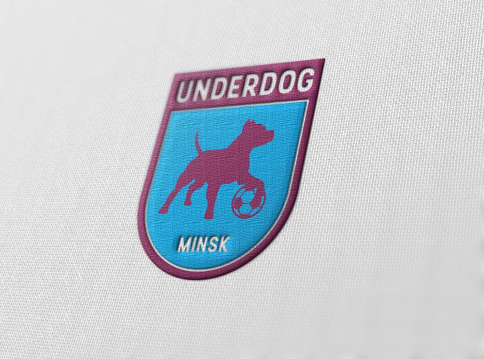 Футбольный клуб UNDERDOG - разработать фирстиль и бренд-бук фото f_5215caf0c50e89fe.png