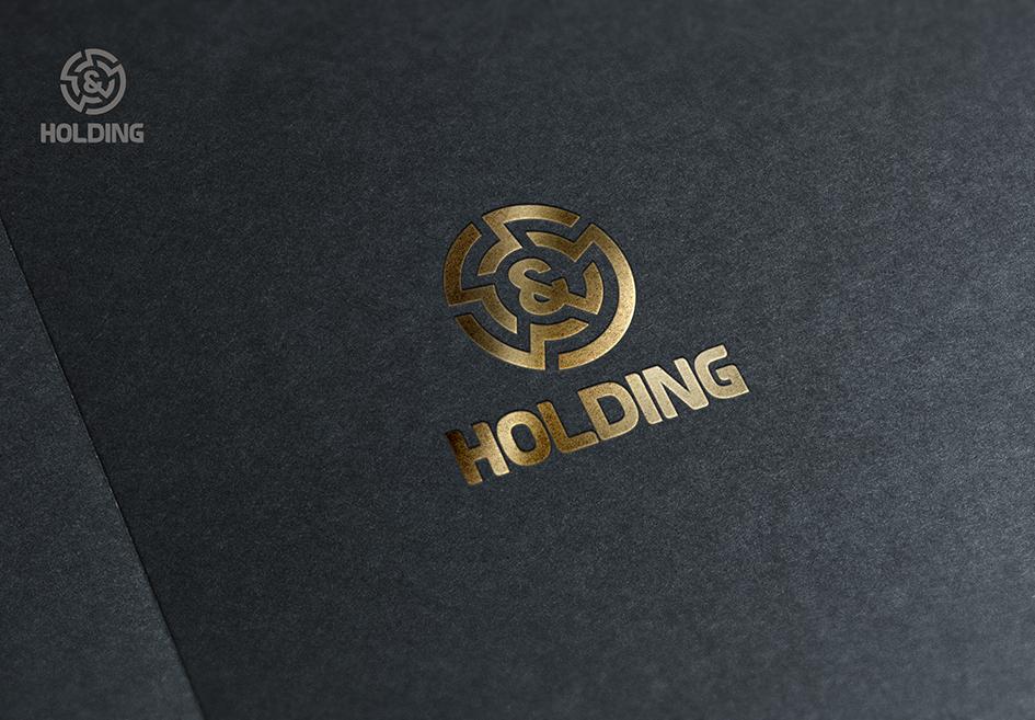 """Разработка Логотипа +  Фирменного знака для компании """"O & O HOLDING"""" фото f_5955c7f7677009d9.png"""