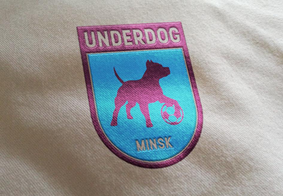Футбольный клуб UNDERDOG - разработать фирстиль и бренд-бук фото f_6645caf15f5f2600.png