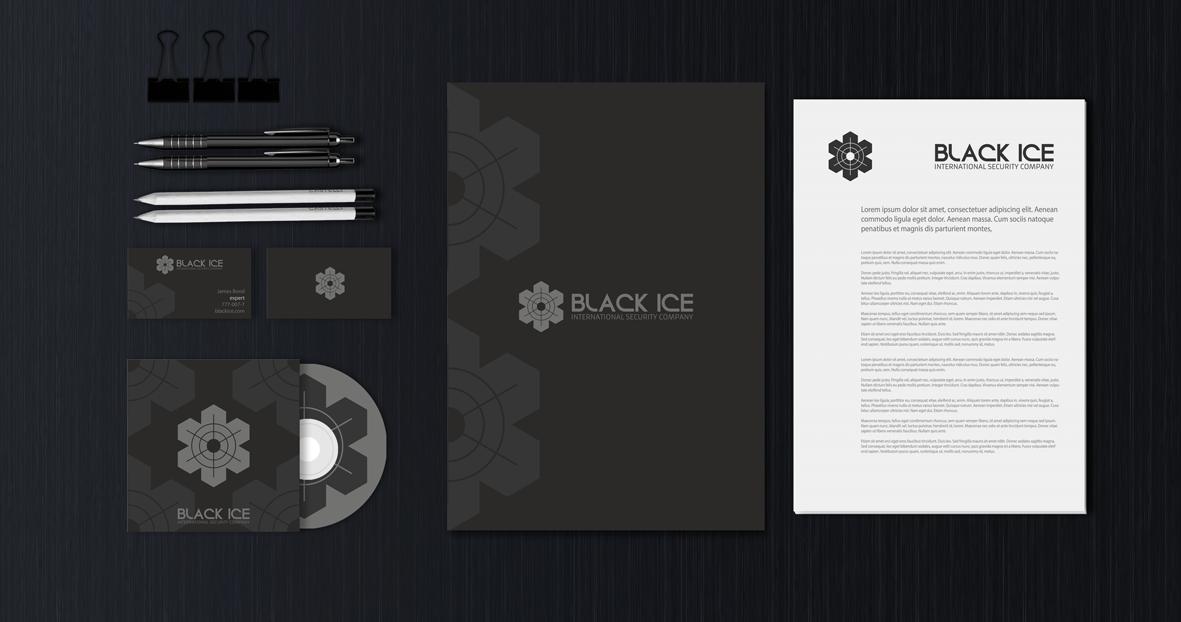 "Логотип + Фирменный стиль для компании ""BLACK ICE"" фото f_8105719ce96c0041.png"