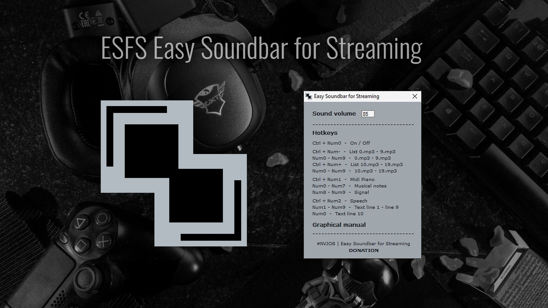 ESFS Easy Soundbar for Streaming