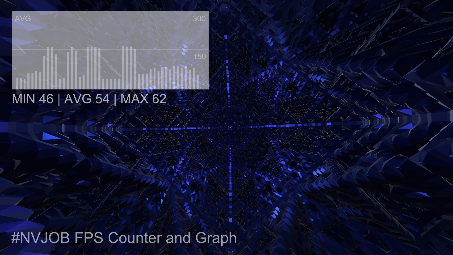 #NVJOB FPS Counter and Graph