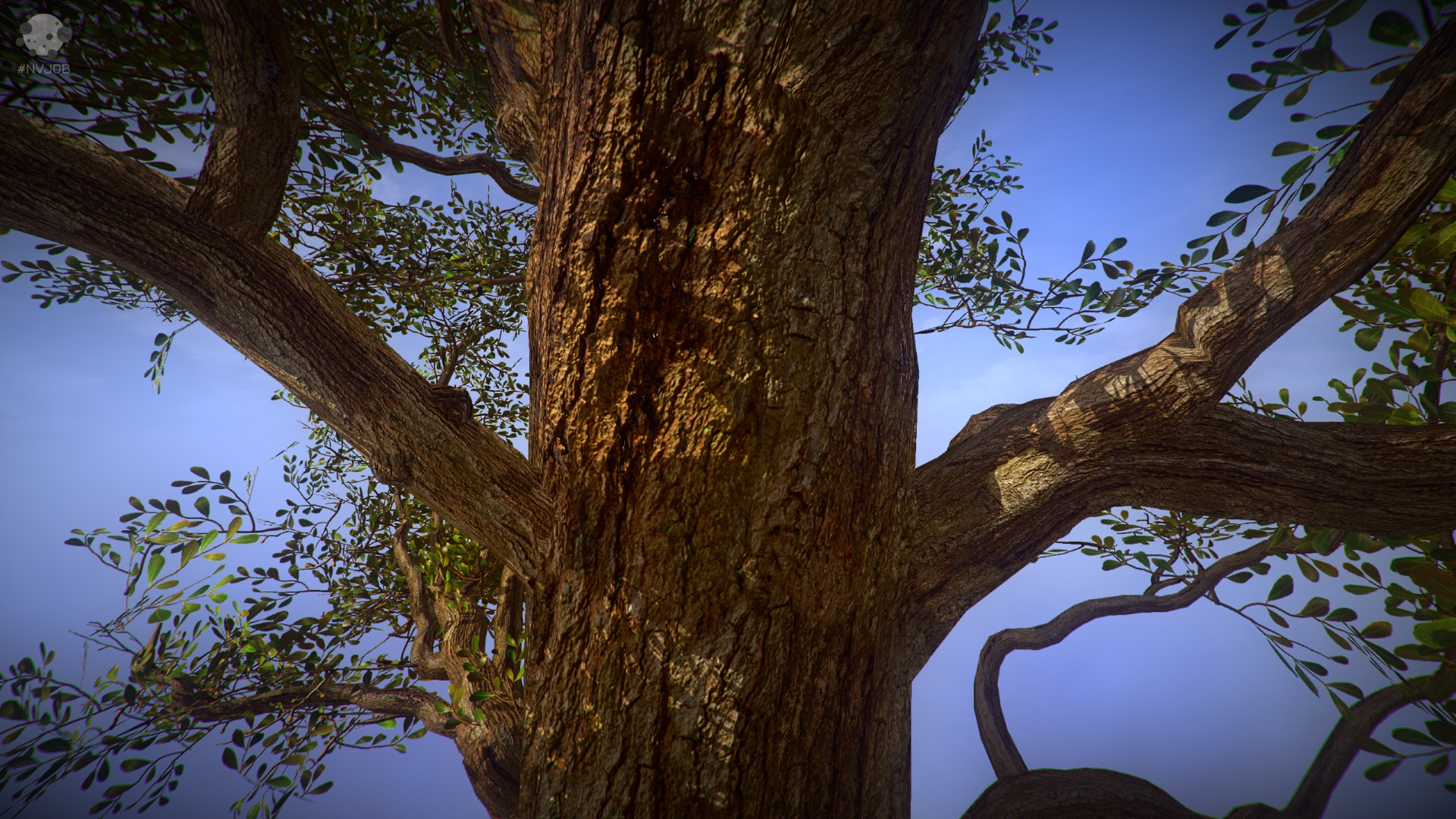 #NVJOB Shader for Unity SpeedTree 8 (STC8)
