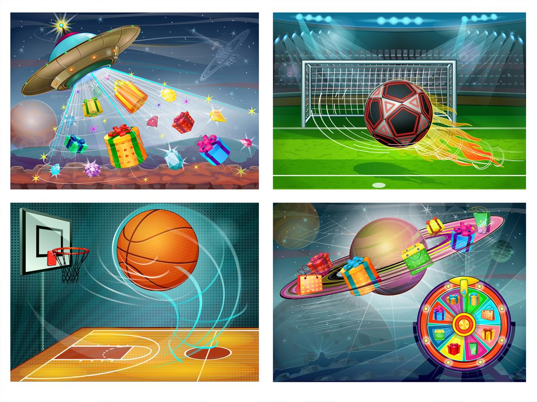 Иллюстрации для игрового приложения
