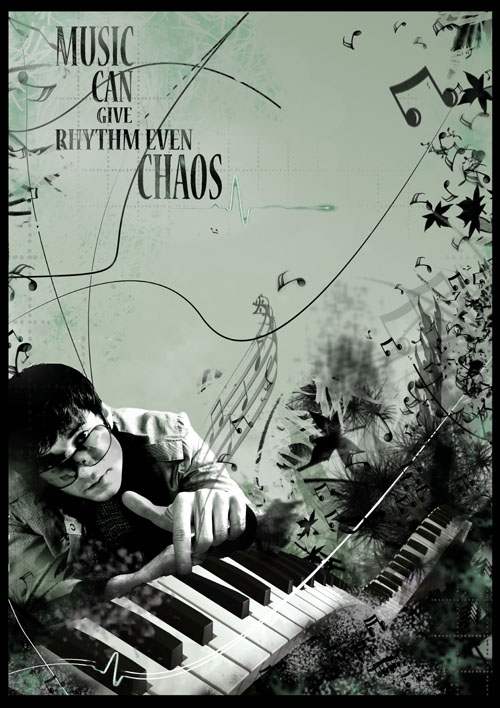 music can give rhythm even chaos