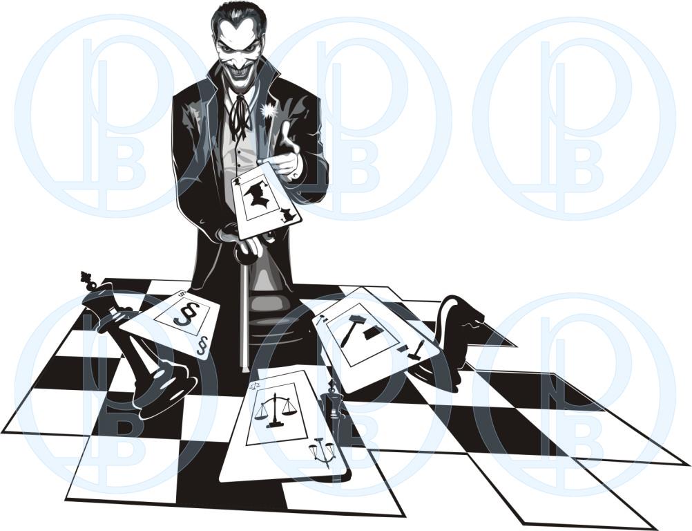 """Иллюстрация """"Джокер"""" (вектор)"""