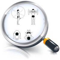 Иллюстрирование физ.упражнений (130позиций. Corel Draw )