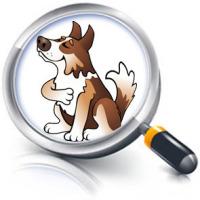Иллюстрация персонажа-собаки. Эмоции (CorelDraw)