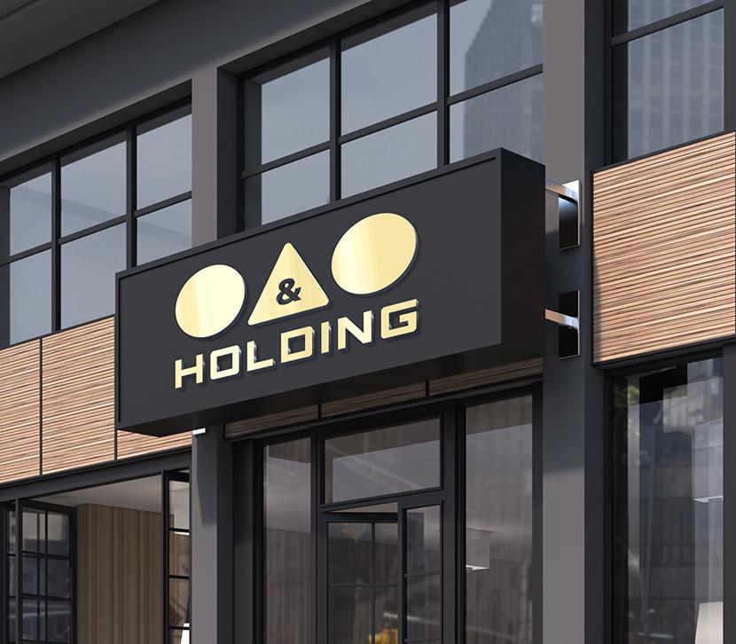"Разработка Логотипа +  Фирменного знака для компании ""O & O HOLDING"" фото f_2975c7e6dc8481ac.jpg"