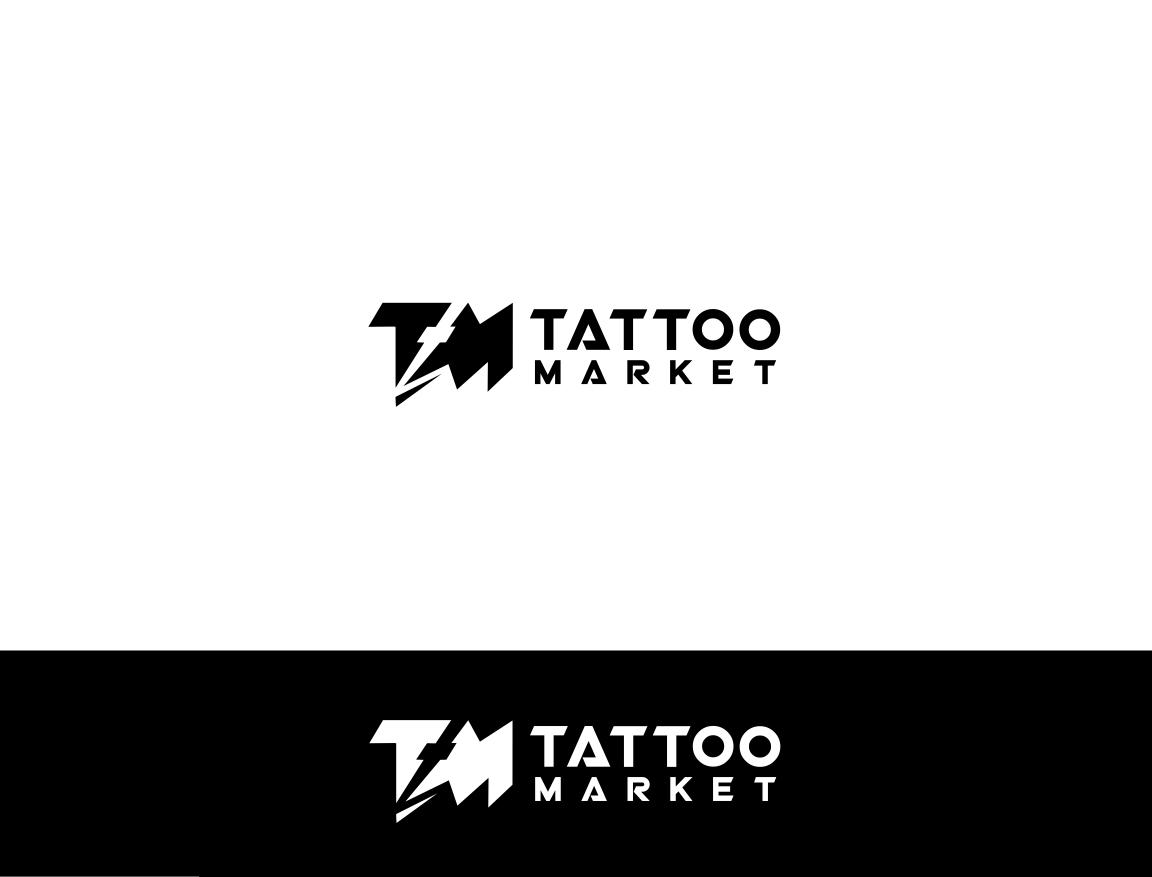 Редизайн логотипа магазина тату оборудования TattooMarket.ru фото f_7245c41d3735a7eb.jpg