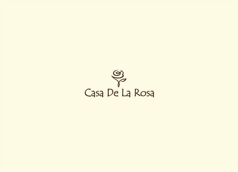 Логотип + Фирменный знак для элитного поселка Casa De La Rosa фото f_9145cd55810acdc4.jpg
