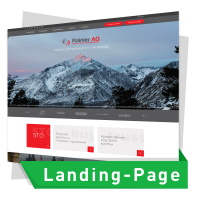 "Landing Page ""ПОД КЛЮЧ"" для Rainier AG"