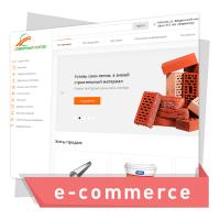 Дизайн интернет магазина по продаже стройматериалов