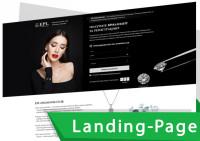 """Landing Page """"ПОД КЛЮЧ"""" для EPL"""