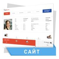Дизайн сайта для фитнес клуба