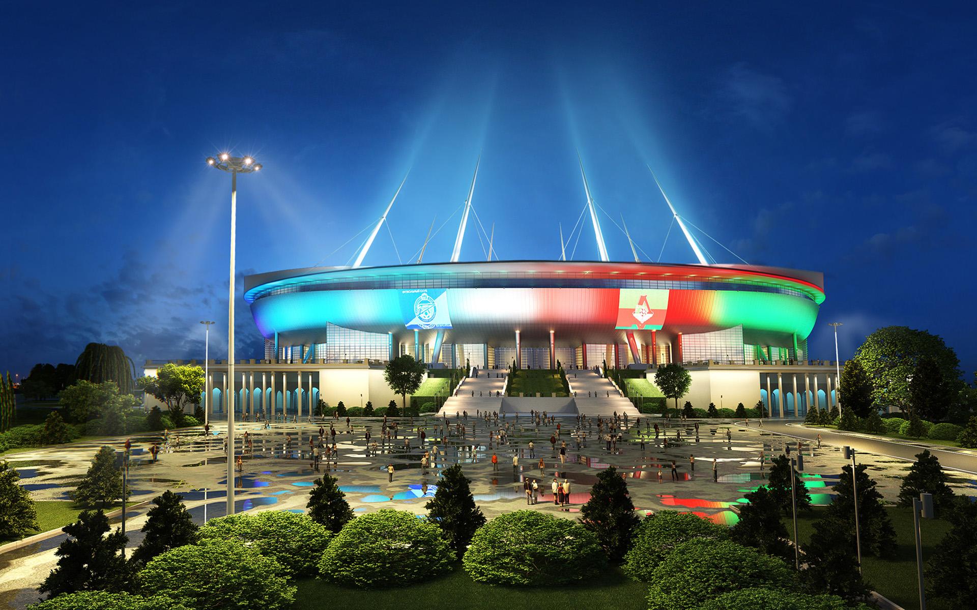 """Стадион """"Зенит"""" в Санкт-Петербурге"""