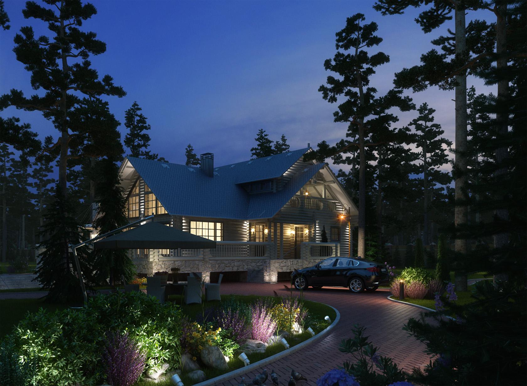 дом на финском заливе (ночь3)
