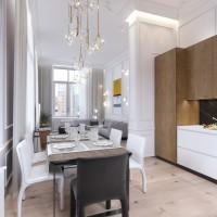 Гостиная и кухня