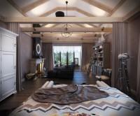 Спальня в загородном доме