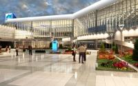 Освещение аэропорта в Сочи (интерьер)