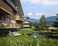 Поселок в Швейцарии. Вид3