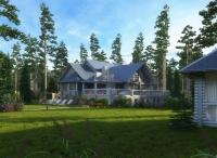 Дом на финском заливе 1