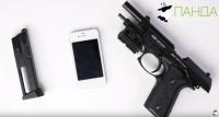 ВИДЕОМОНТАЖ, РАССТРЕЛ IPHONE наложение звуков, логотипа, переходов. iPhone расстреляли из пистолета