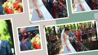 ВИДЕОМОНТАЖ, слайд шоу из свадебных фотографий