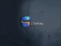 "Логотип для школы английского языка ""STEMFORD"" занял 1-е место в конкурсе."